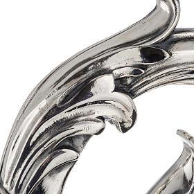 Báculo em prata 966/1000 e metal mod. folhas s3