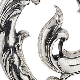 Crozier in 966 silver, electroforming, leaves model s2
