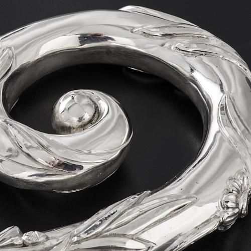 Crozier in 966 silver, electroforming, silver model 7
