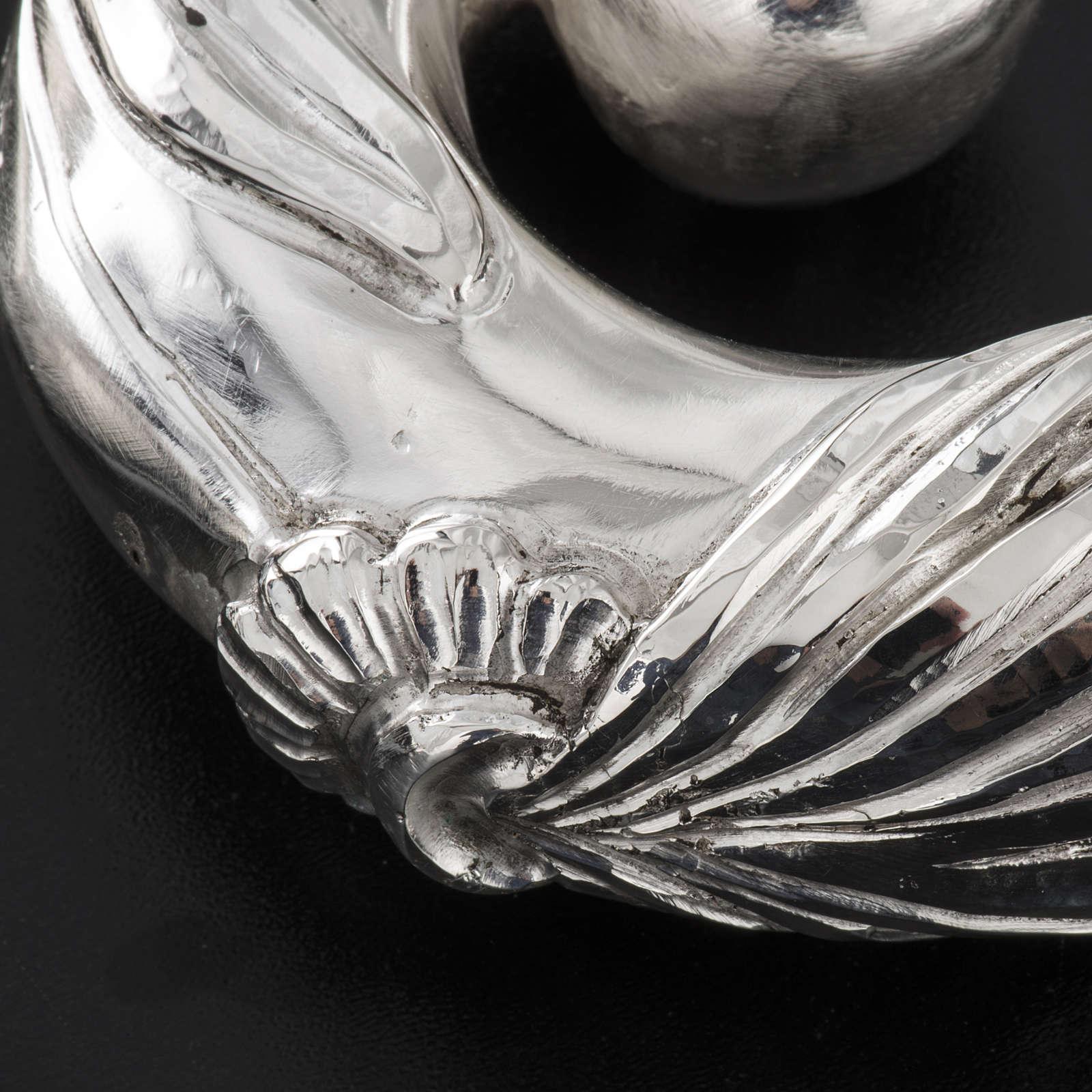 Pastorale in argento 966/1000 e metallo mod. argentato 3