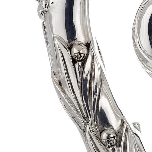 Pastorale in argento 966/1000 e metallo mod. argentato 5