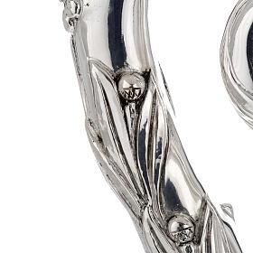 Báculo em prata 966/1000 e metal mod. prateado s5