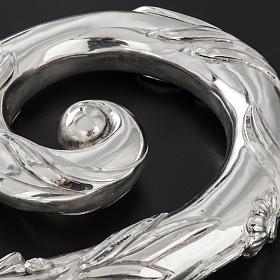 Báculo em prata 966/1000 e metal mod. prateado s7