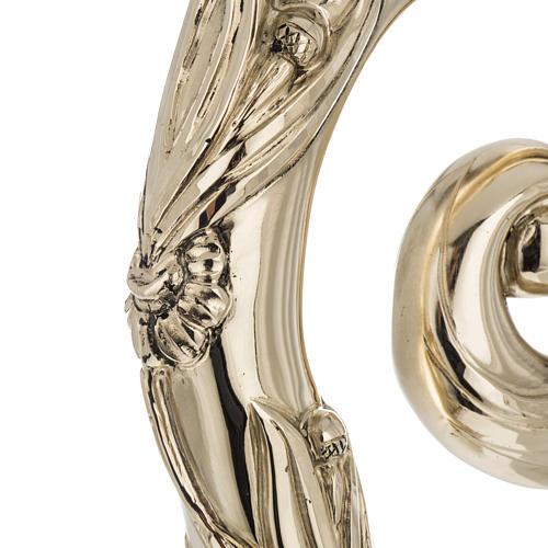 Crozier in 966 silver, electroforming, golden model 6