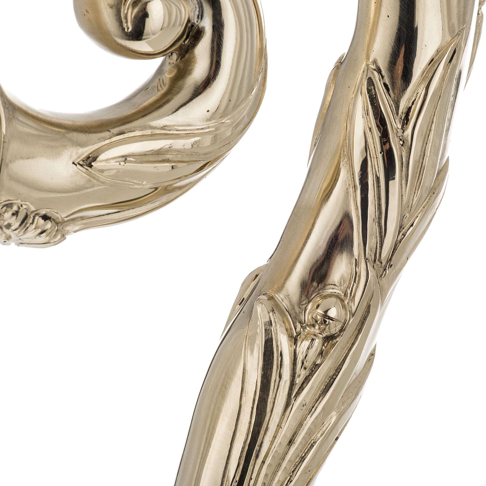 Pastorale in argento 966/1000 e metallo mod. dorato 3