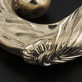 Pastorale in argento 966/1000 e metallo mod. dorato s11