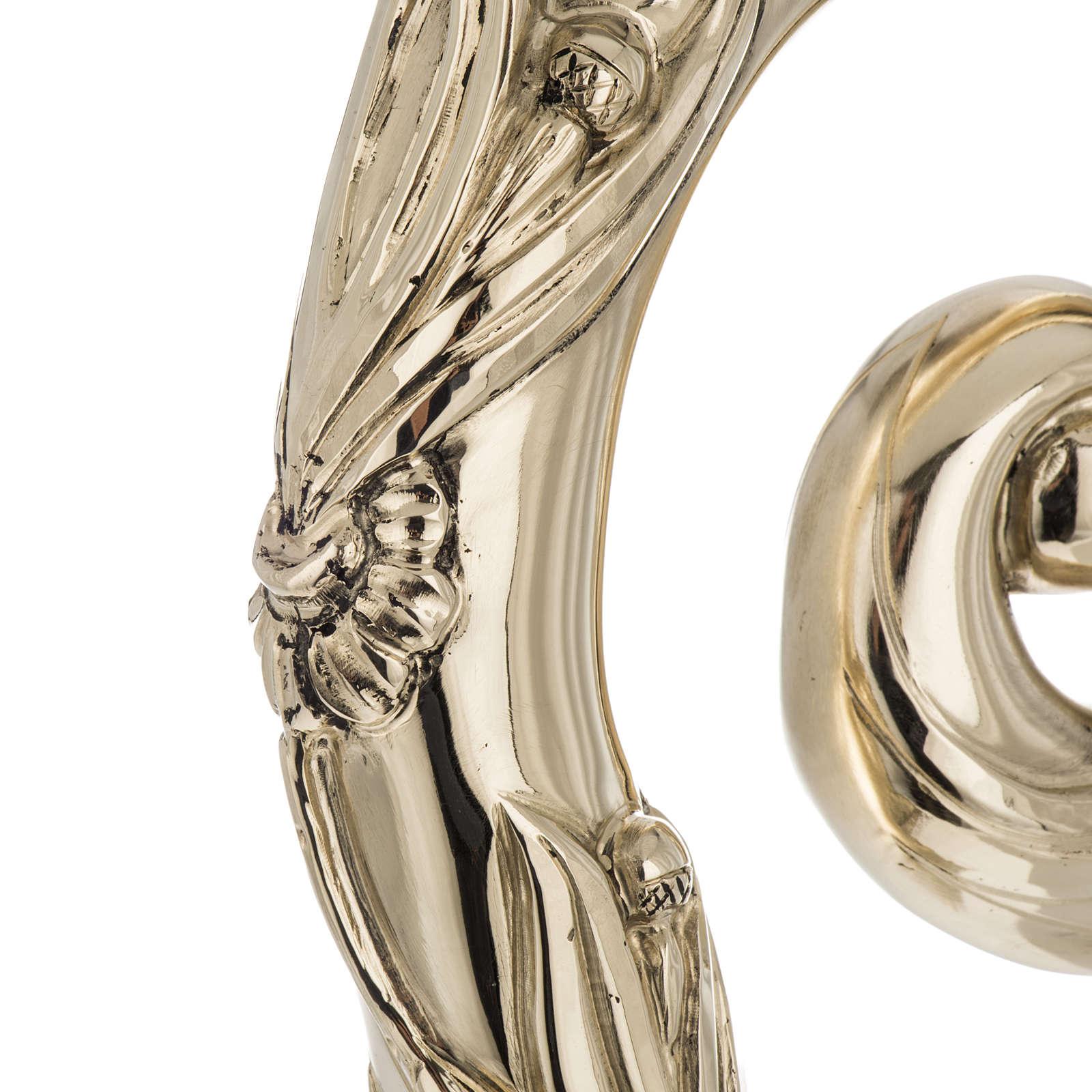 Crozier in 966 silver, electroforming, golden model 3