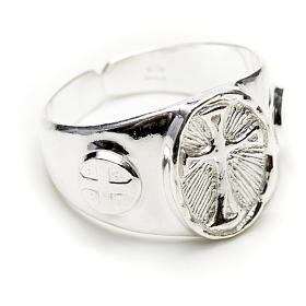 Bishop's ring in 925 silver s1