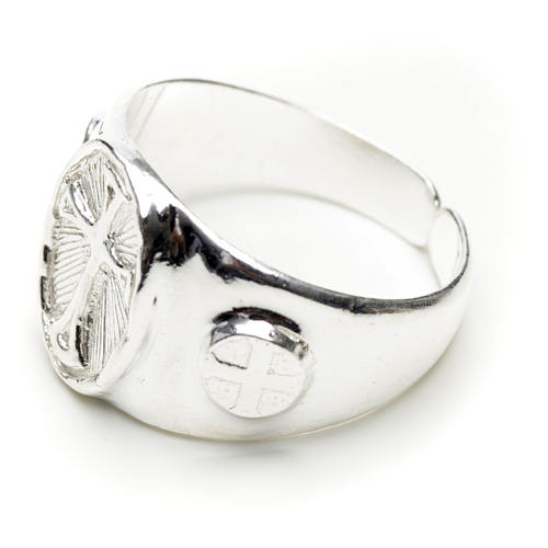Bishop's ring in 925 silver 2