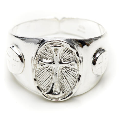 Bishop's ring in 925 silver 3
