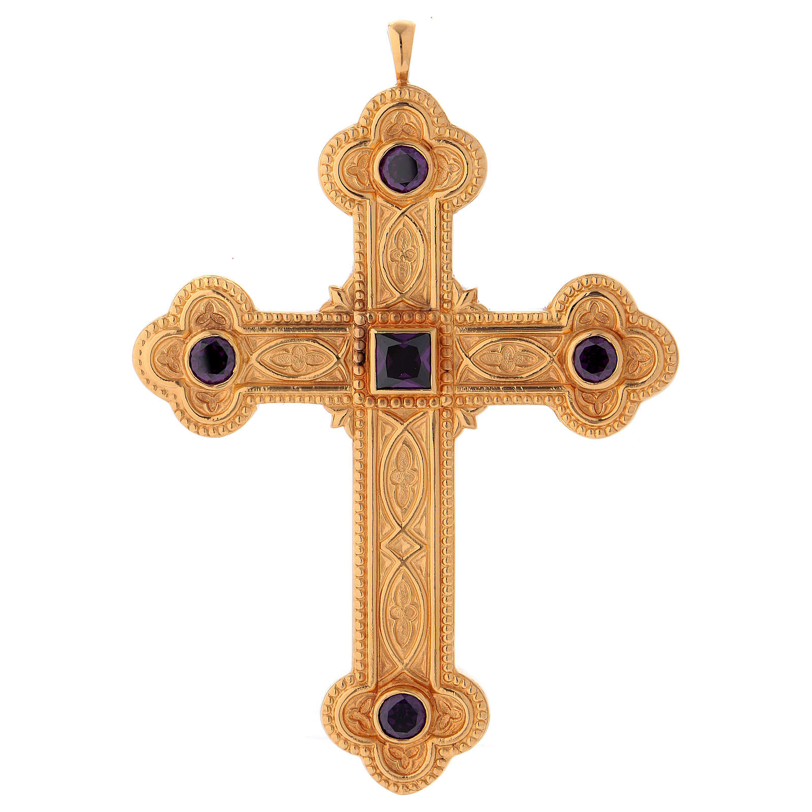 Cross for bishops in sterling silver by Molina 3