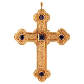 Cross for bishops in sterling silver by Molina s1