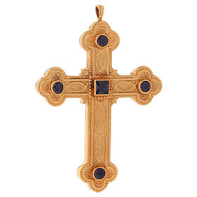 Cross for bishops in sterling silver by Molina s3