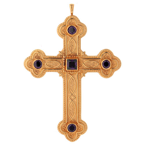 Cross for bishops in sterling silver by Molina 1