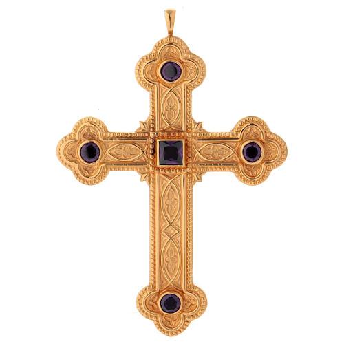 Croce per vescovi Molina argento 925 1