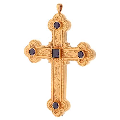 Croce per vescovi Molina argento 925 2