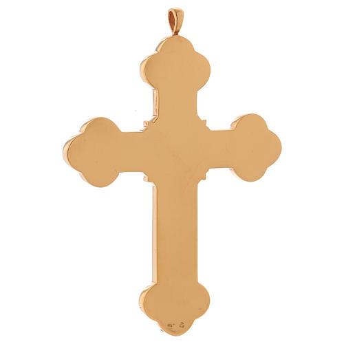 Croce per vescovi Molina argento 925 4