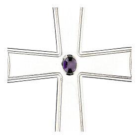 Croix pour évêque évasée Molina argent 925 s2