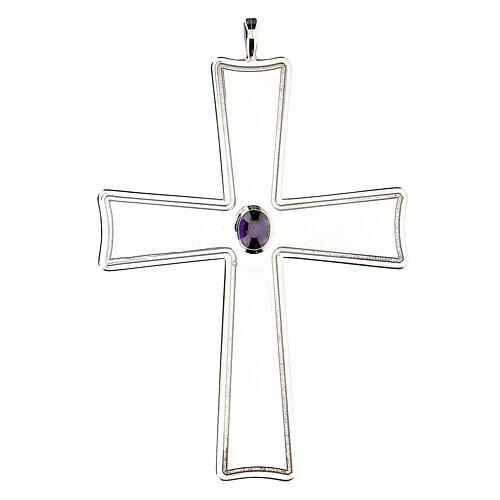 Croix pour évêque évasée Molina argent 925 1