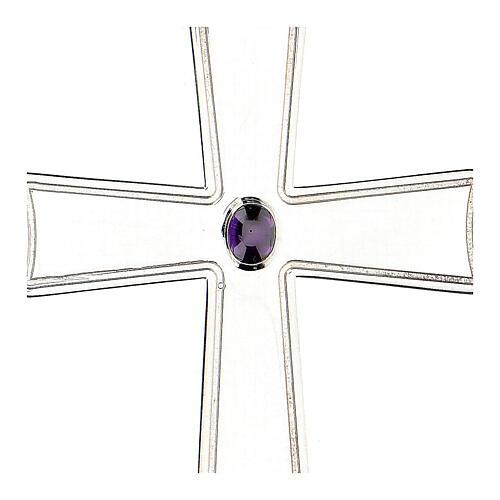 Croix pour évêque évasée Molina argent 925 2