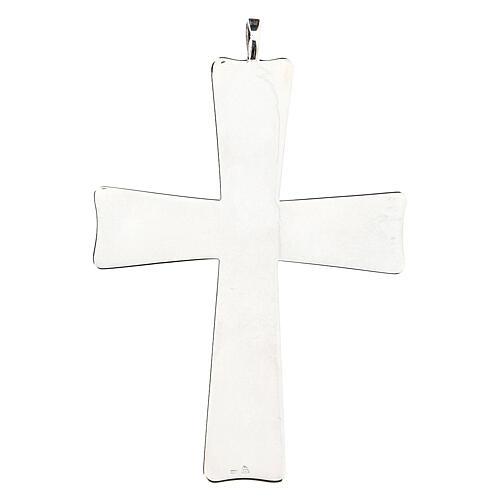 Croix pour évêque évasée Molina argent 925 5