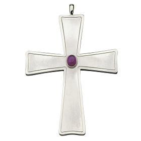 Croce per vescovo Molina argento 925 s1