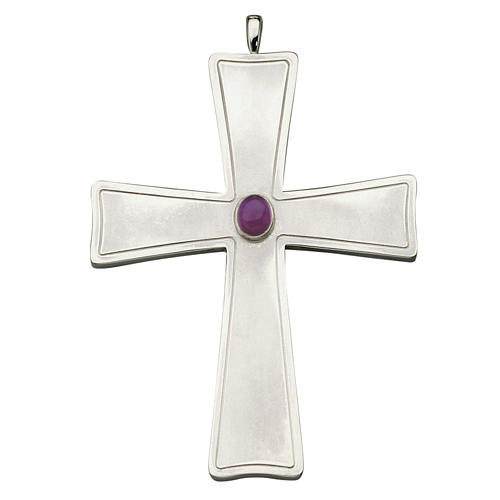 Molina cross for bishops in sterling silver 1