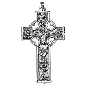 Croix celtique pendentif pour évêque Molina argent 925 s1