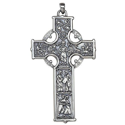 Croix celtique pendentif pour évêque Molina argent 925 1