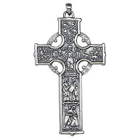 Molina cross for the neck, in sterling silver s1