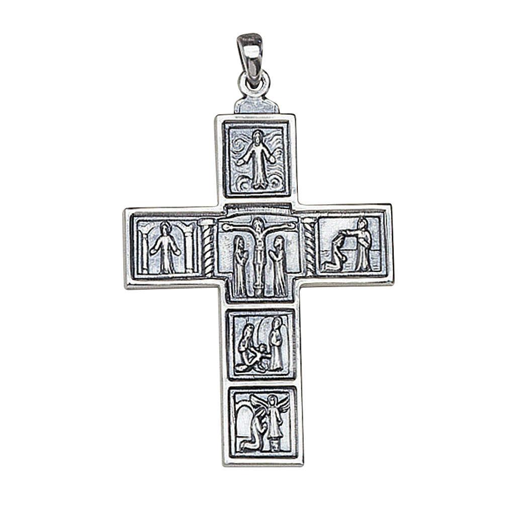 Croce Molina per il collo 6,3x4,5 argento 925 3