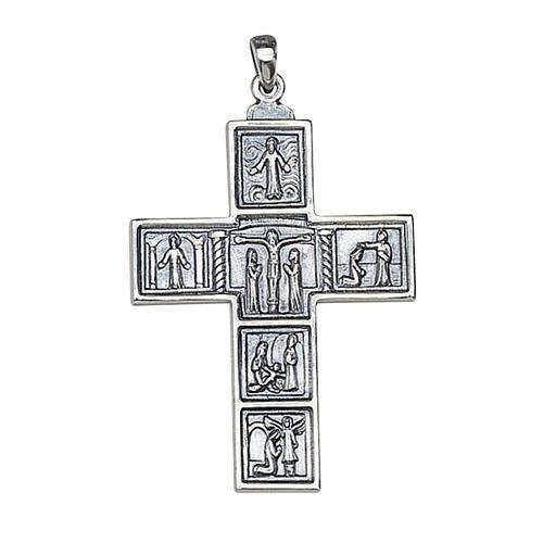 Croce Molina per il collo 6,3x4,5 argento 925 1