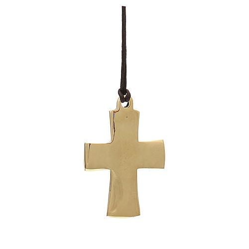 Croix épiscopale Jésus Grand Prêtre Moines Bethléem 7x4,5cm 2