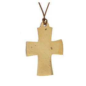 Croce Vescovile Jesus Grand Pretre Monaci Betlemme  5,5x4 s2