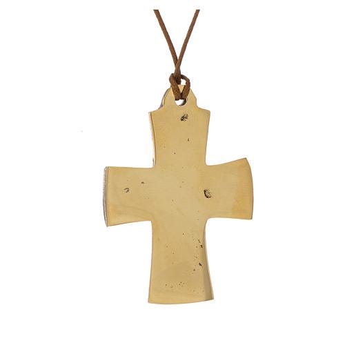 Croce Vescovile Jesus Grand Pretre Monaci Betlemme  5,5x4 2