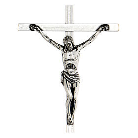 Pectoral cross silver-plated 10x6,5cm s2