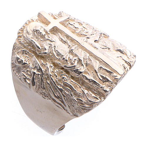 Bishop ring silver 925 Jesus 1