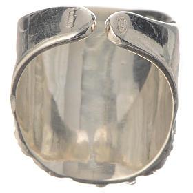 Bishop ring silver 925 Jesus s4