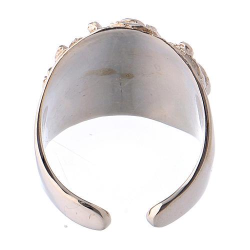 Bishop ring silver 925 Jesus 5