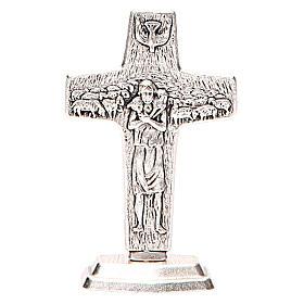 Croce con base Buon pastore di Papa Francesco s3