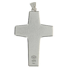 Pectoral cross Good Shepherd metal 10x7cm s4
