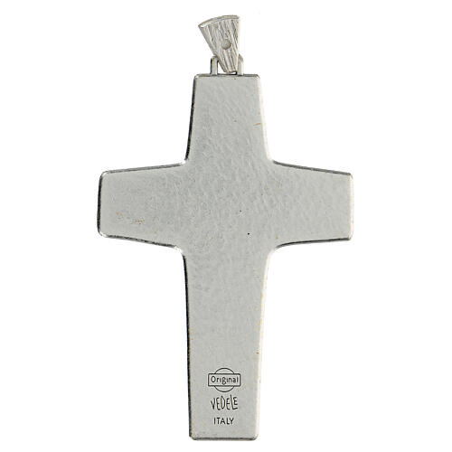 Pectoral cross Good Shepherd metal 10x7cm 4