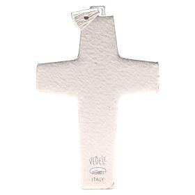 Krzyż pektoralny Dobry Pasterz metal 10x7 cm s2