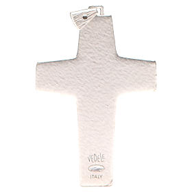 Pectoral cross Good Shepherd metal 10x7cm s2