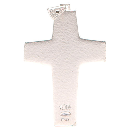 Pectoral cross Good Shepherd metal 10x7cm 2