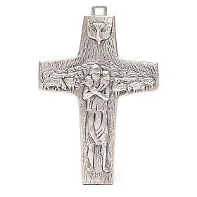 Cruz pectoral Buen Pastor 20 x 14 cm s1