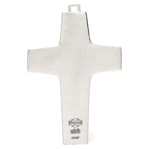 Croix pectorale Bon Pasteur avec boîte 20x14 cm 2