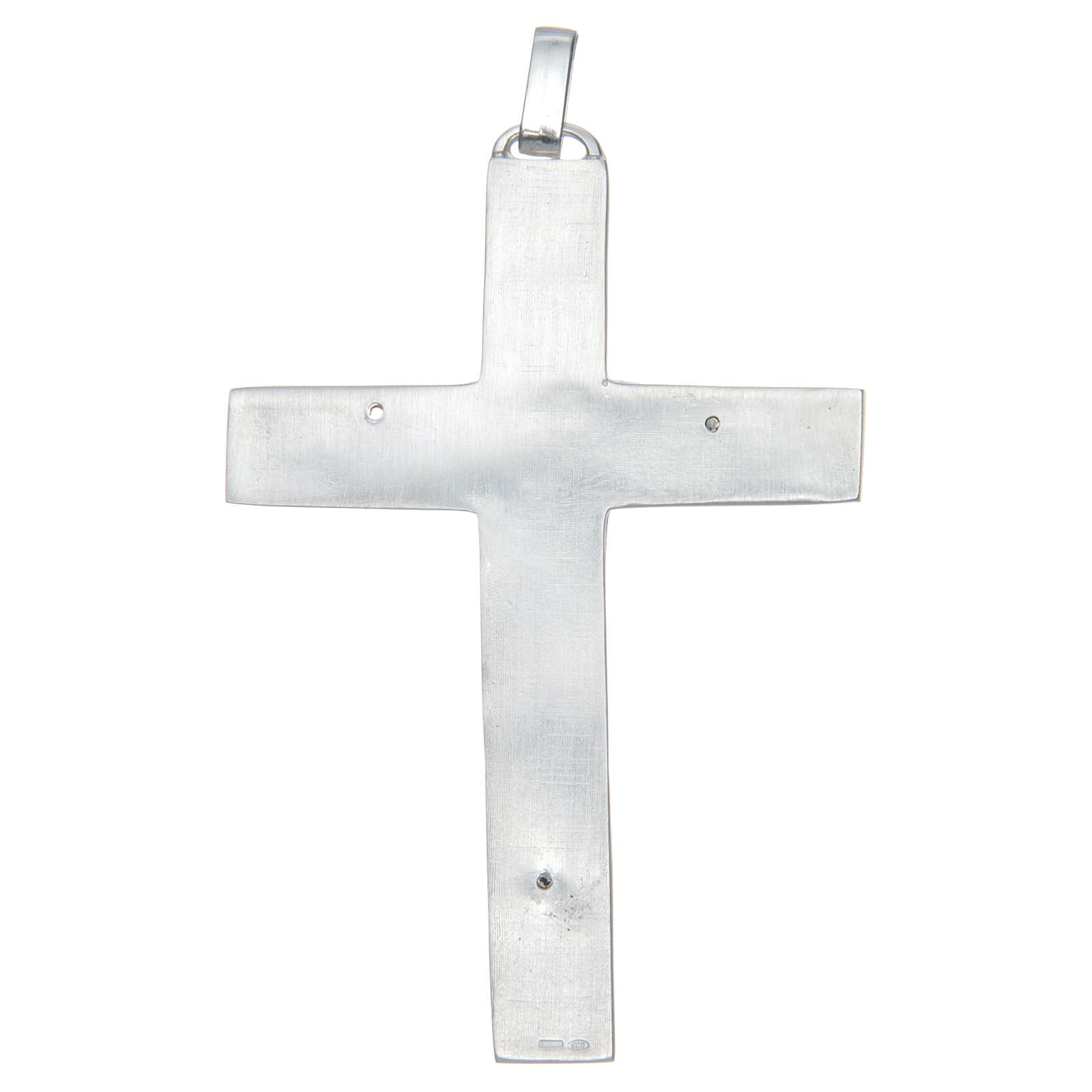 Cruz pectoral Plata 925 Evangelistas 3