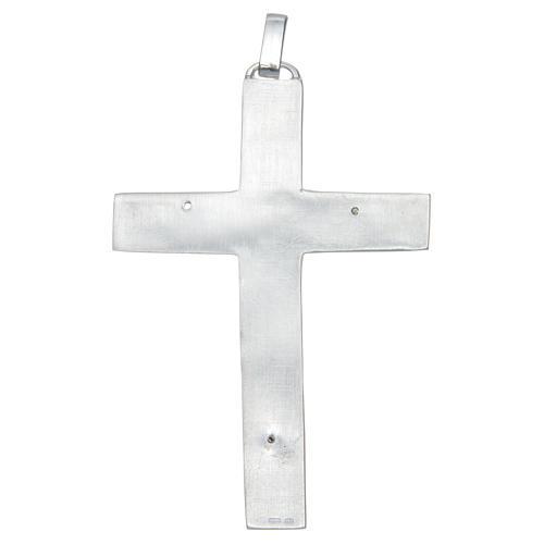Cruz pectoral Plata 925 Evangelistas 2