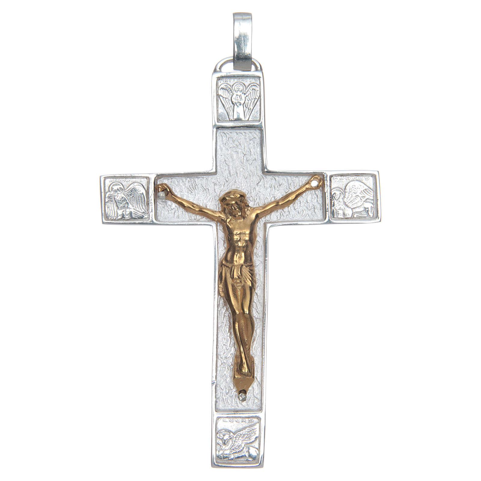 Croce pettorale Argento 925 Evangelisti 3